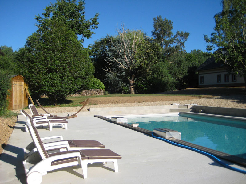 Chambres d 39 h tes piscine en normandie for Piscine clos d or grenoble